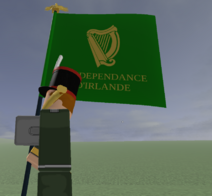 Irish legion obverse