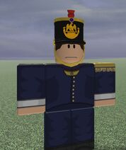 1e Regiment d'Artillerie a PiedOfficer