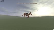 Fly horse