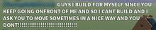 GUYS I BUILD FOR MYSELF