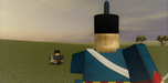 Austrian Rifleman awaits his doom