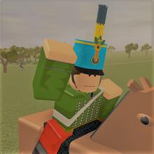 Cheering cavalry