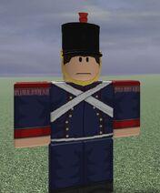 1e Regiment d'Artillerie a PiedRanker