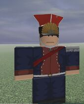 1e Cheavu-Leger de Garde Officer