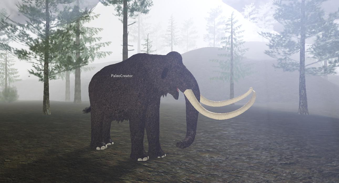 Woolly Mammoth Roblox Cenozoic Survival Wiki Fandom - cenozoic survival roblox