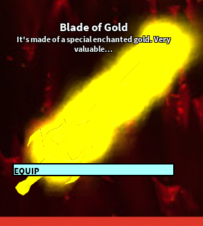 Blade Of Gold Roblox Craftwars Wikia Fandom Powered By Wikia