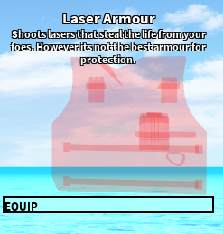 Laser Armour Roblox Craftwars Wikia Fandom Powered By Wikia