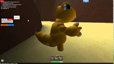 Roblox Digimon lines w CaptainMDB ep 3 Agumon line!