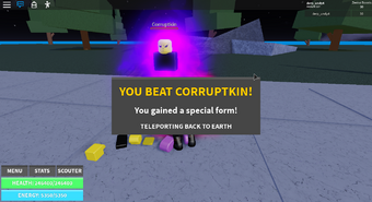 Bosses Roblox Dragon Ball Wiki Fandom