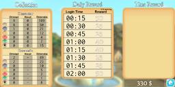 Time rewards