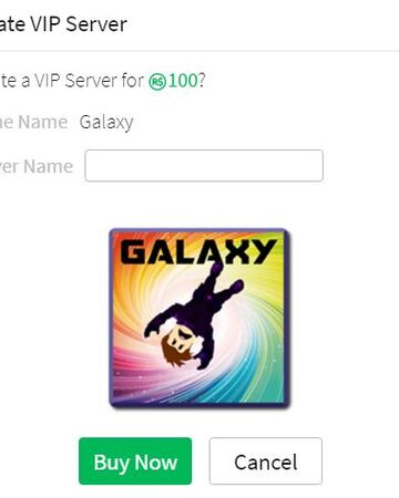 Roblox Account Vip Galaxy Vip Servers Roblox Galaxy Official Wiki Fandom
