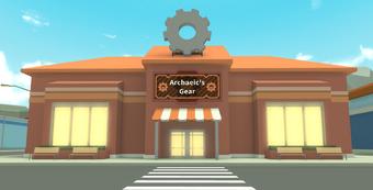 Archaeic S Gear Roblox High School 2 Wiki Fandom