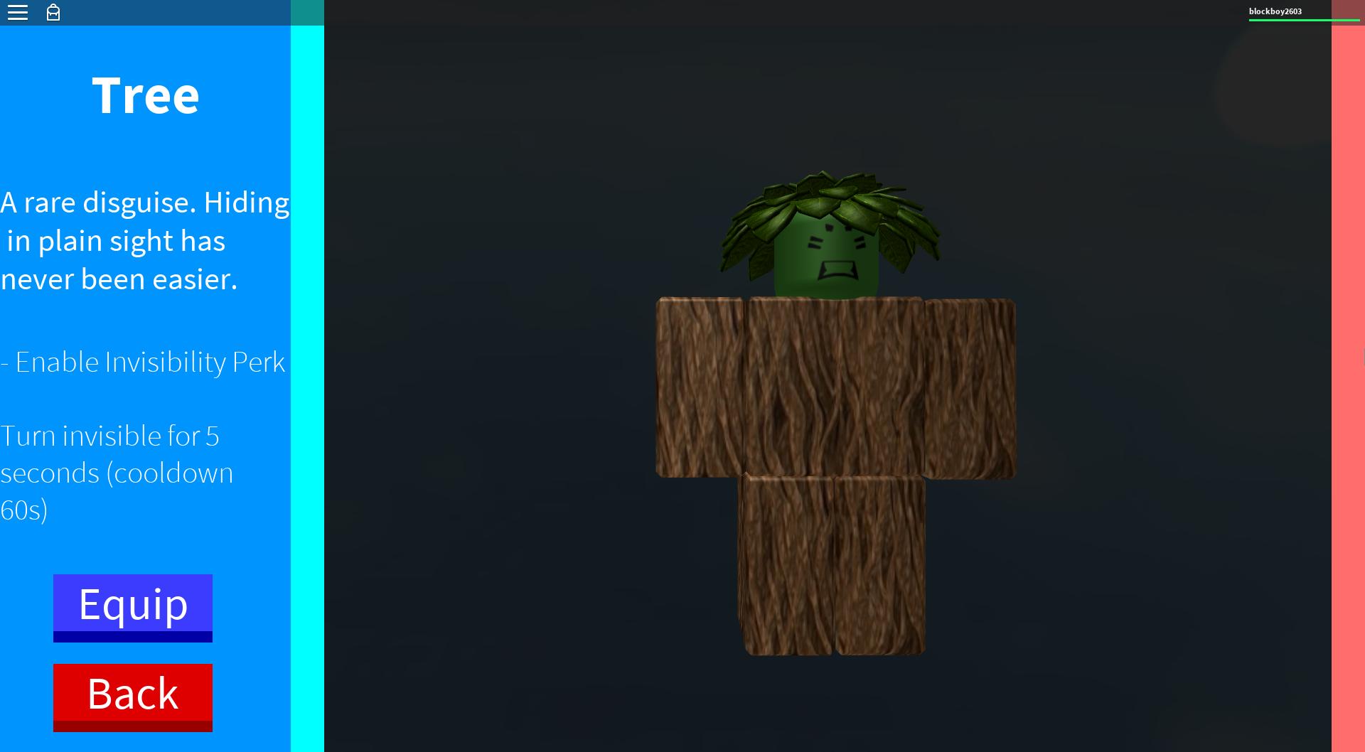 Disguise: Tree | ROBLOX In Plain Sight Wikia | FANDOM ...