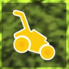 Golden Mower Roblox Lawn Mowing Simulator Wiki Fandom