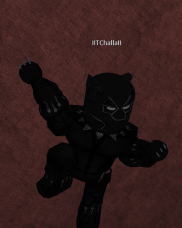 Black Panther Roblox Marvel Universe Wikia Fandom