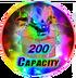 200 Capacity