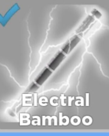 Thunder Cloud Roblox Electral Bamboo Roblox Ninja Legends Wiki Fandom