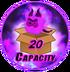 20 Capacity