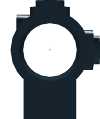PKA reticle