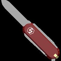 Utility Knife angled