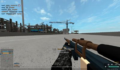 568 studs Dragunov SVDS kill
