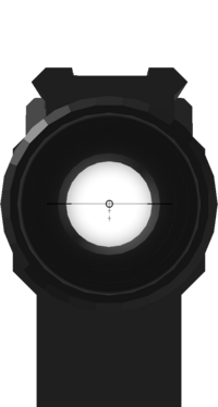 HENSOLDT 3X SIGHT reticle