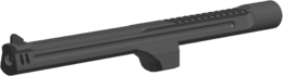EXTENDED BARREL angled