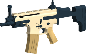 SCAR PDW angled