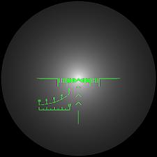 PSO1 reticle blur