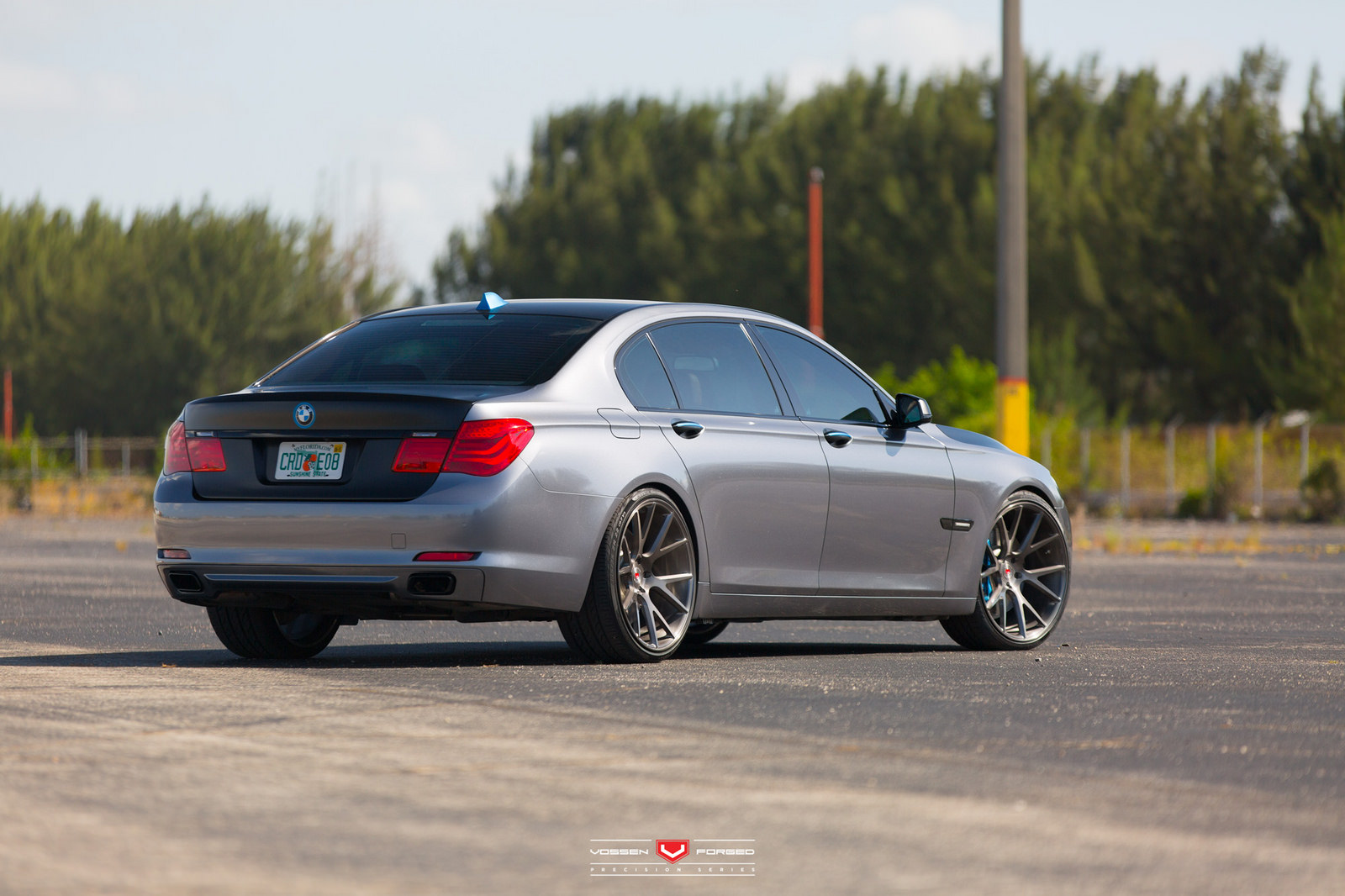 BMW 7 Series With Vossen Wheels 6