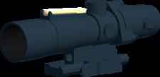 TA33 ACOG angled