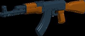 AK47 angled