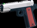 M1911 angled