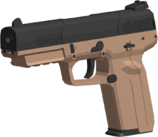 FIVE SEVEN angled