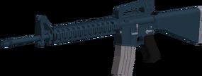 M16A4 angled