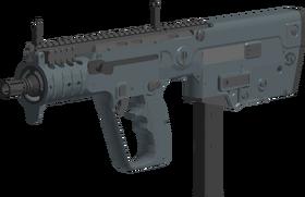 X95 SMG angled