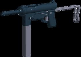M3A1 angled