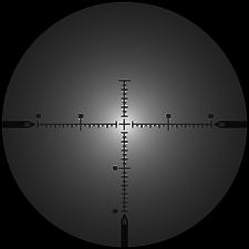 BFG 50 reticle blur