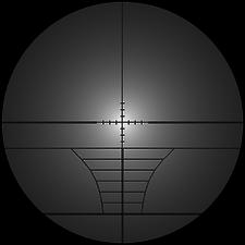 Remington 700 reticle blur