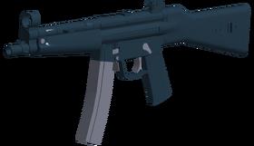 MP5 angled