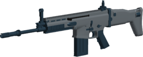 SCAR-H angled