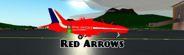 Raf Roblox Red Arrows Livery Roblox Pilot Training Flight Plane Simulator Wiki Fandom