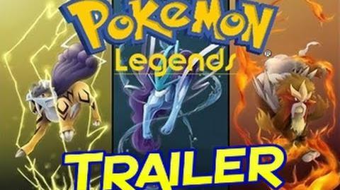 Pokemon Legends Gameplay Trailer!