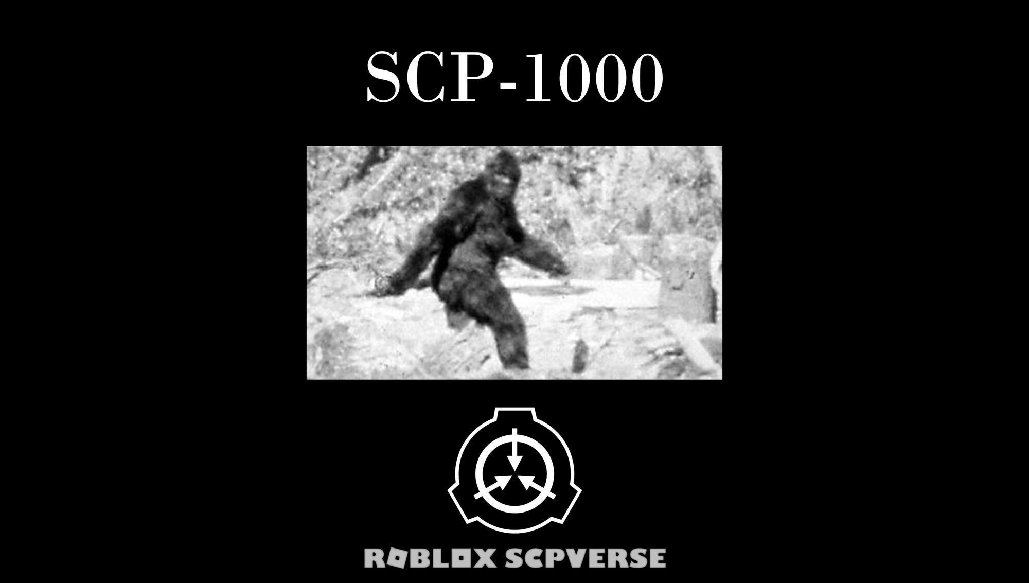 SCP-1000 (Film) | ROBLOX SCPverse Wiki | FANDOM powered by Wikia