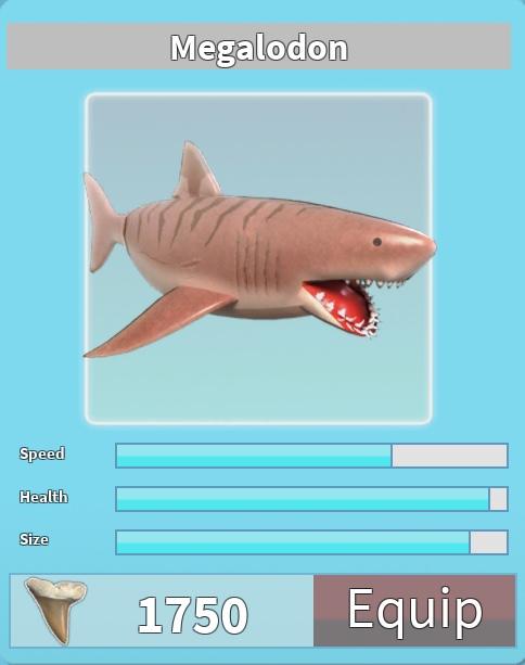 Megalodon | Roblox Shark Bite Wiki | FANDOM powered by Wikia