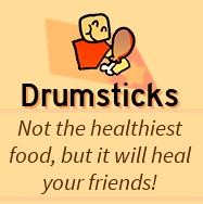 Drumsticks!
