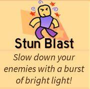 Stun blast