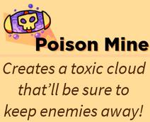 Poison Mine Skill