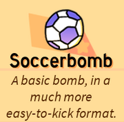 SoccerbombSkill