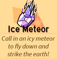 Ice meteor desc